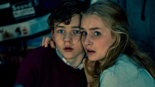 "In ""Better Watch Out,"" Luke (Levi Miller) and Ashley"