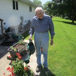 Growing faith, gardens: Father Ed Sippel celebrates 70 years in priesthood