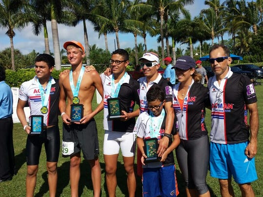 Several members of the Corredor family were among the top finishers at the weekend event.