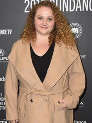 Danielle Macdonald at the Sundance premiere of 'Patti