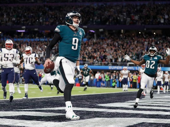 The Eagles' Nick Foles becomes the first Arizona Wildcats quarterback to win a Super Bowl.