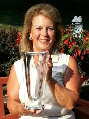 Kathleen Williams, winner of the 2015 Dutchess County Senior Women's Golf Championship.