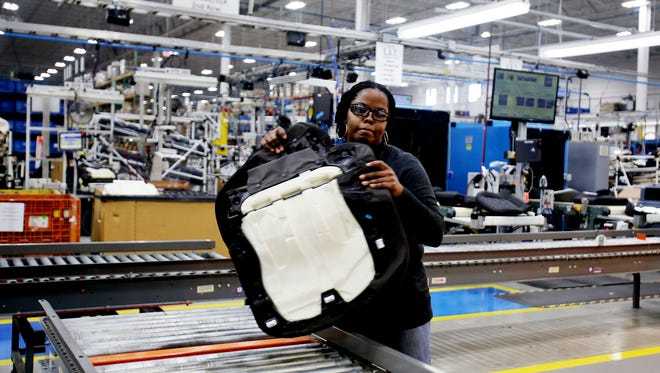 Wayne County topped the list of U.S.counties with new manufacturing jobs in 2014, a new report found.