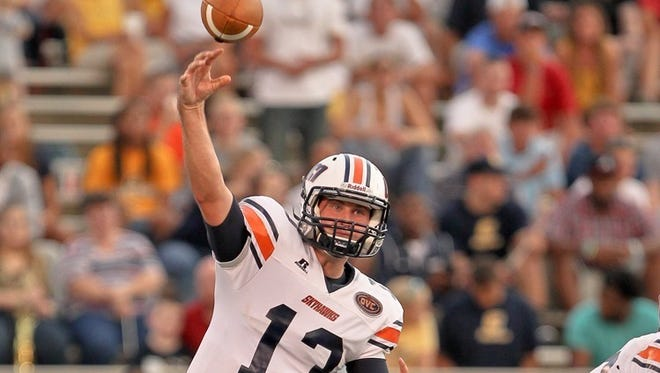 Former Beech quarterback Jarod Neal, now a senior quarterback at UT Martin, was the OVC Co-Offensive Player of the Week.