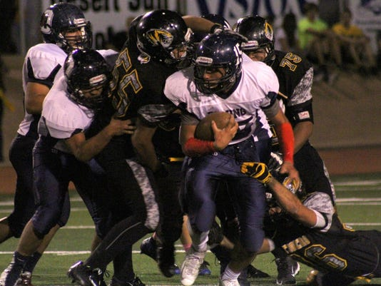 Alamogordo Tigers trounce Deming Wildcats 56-12