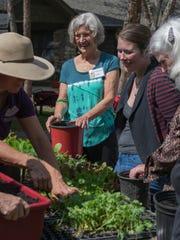 Volunteers helped UGrow Community Dig Day get going
