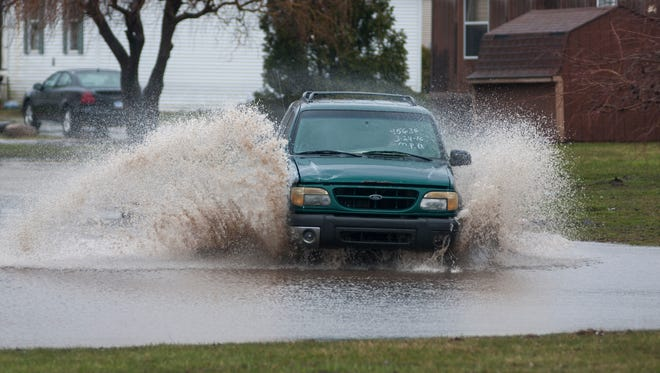 The National Weather Service has issued a flood watch for the Lansing area beginning 5 p.m. Monday, Aug. 15, 2016.