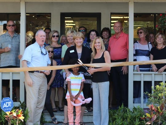 The Sanibel Captiva Islands chamber hosted a ribbon-cutting for Hollie's Boutique.