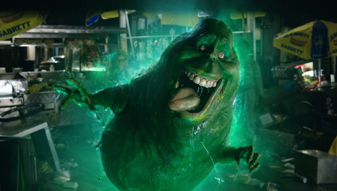 """Slimer in """"Ghostbusters."""""""