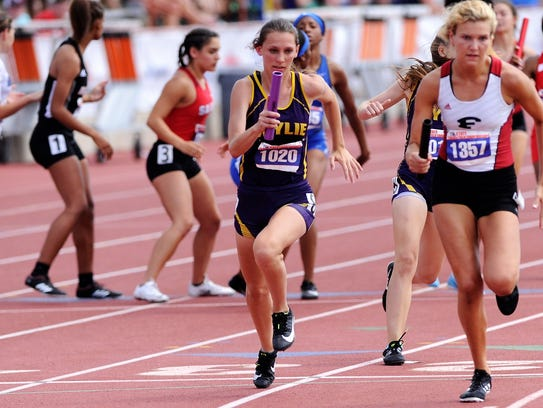 Wylie's Abbey Henson takes the baton for the third