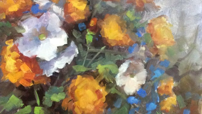 "Graham artist Beth Prichard will show her impressionistic works beginning today at the West End Studio at the Kemp Center for the Arts. The show titled ""Just Art Plain and Simple"" runs through May 13."