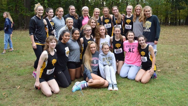 River Dell dominated the Big North Patriot Division, winning the batch meet and championship race.