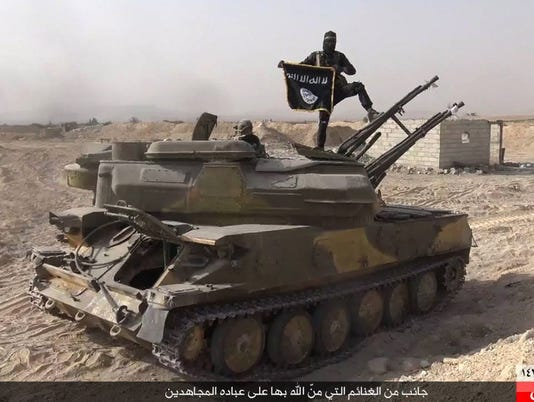 AP MIDEAST ISLAMIC STATE WEAPONS I FILE SYR
