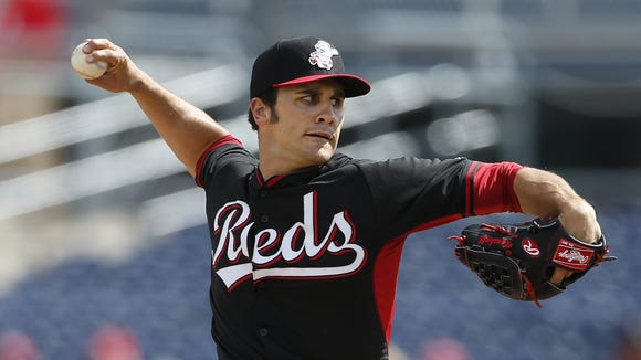 After a line of spring injuries to Reds pitchers, Brett Marshall may be a part of the regular season rotation or bullpen.