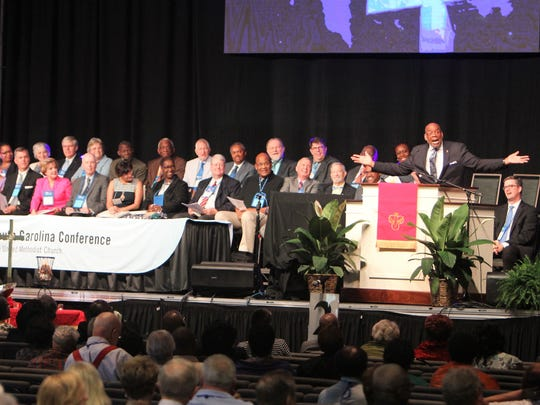 Members of the South Carolina Conference of The United Methodist Church.