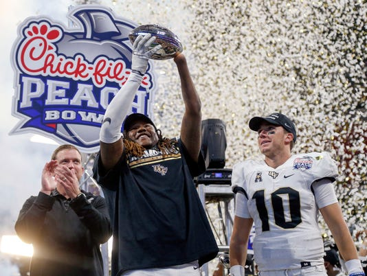 NCAA Football: Peach Bowl-Auburn vs Central Florida