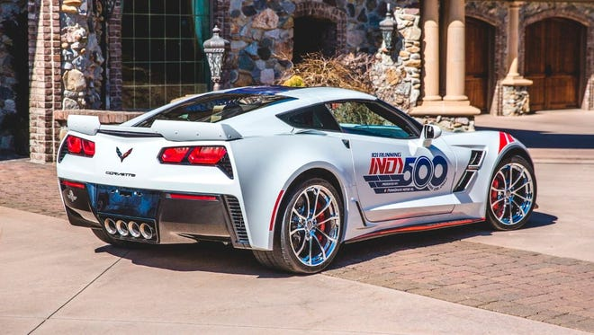 This 2017 Chevrolet Corvette Grand Sport Pace Car Edition is one of 16 cars in Keith Busse's collection.
