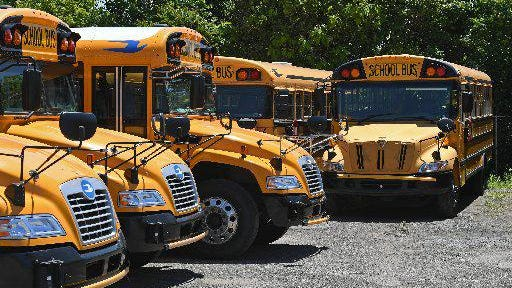 The Erie School District will use its fleet of 31 yellow school buses to transport all eligible elementary school students in 2020-21, a break from a decades-long practice of the district using Erie Metropolitan Transit Authority buses to transport most of its eligible elementary school students.