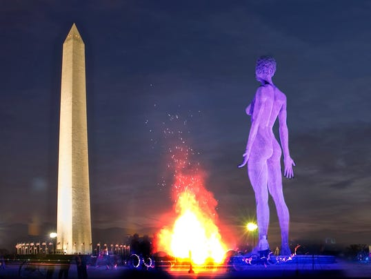 Heres Why A Foot Tall Nude Sculpture May Be Coming To The - 24 of the most creative sculptures you can find around the world
