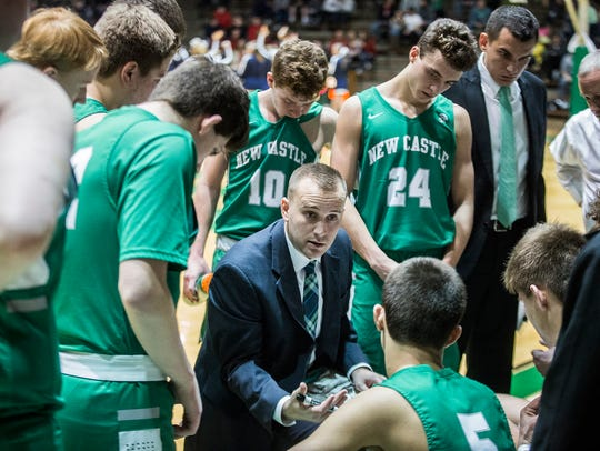 New Castle defeated Delta 68-45 in their sectional