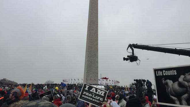 The 2016 March for Life took place Jan. 22 in Washington, D.C., as a major snowstorm approached.