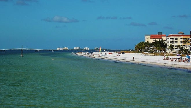 Fort Myers Beach, Florida.