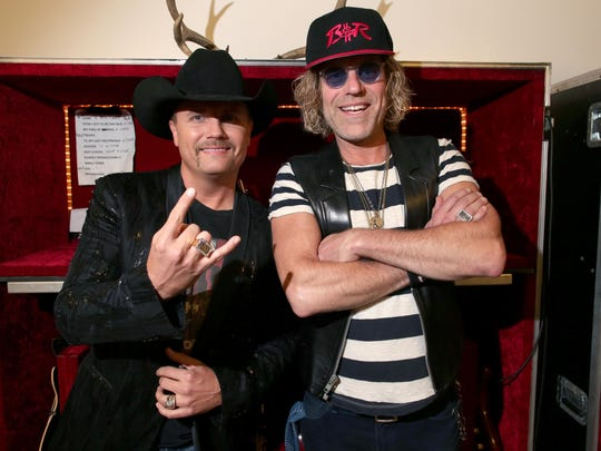 John Rich, left, and Big Kenny — collectively known as Big & Rich — are the Sept. 26 headliners for Country on the Sound in Navarre.