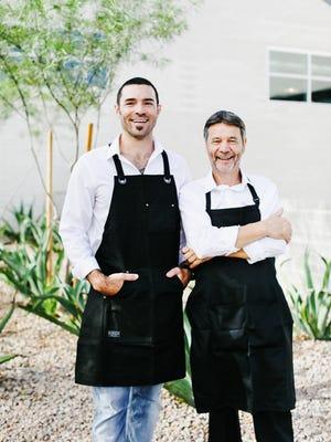 Nick Addante, a partner in Arizona Grass Raised Beef Company, and Luigi Paroli, a second-generation butcher, opened Arcadia Meat Market in Phoenix.