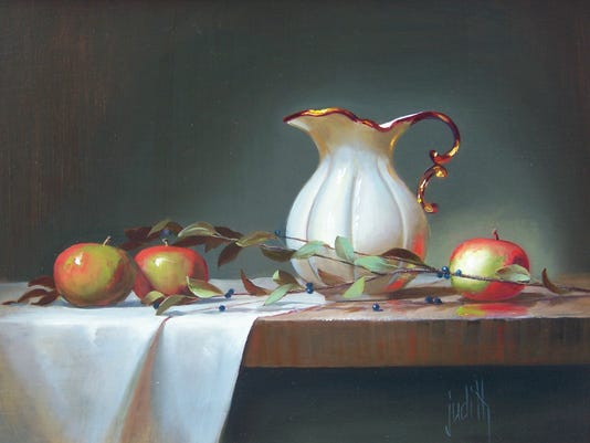 Judith Lewis apples_and_white_pitcher.JPG