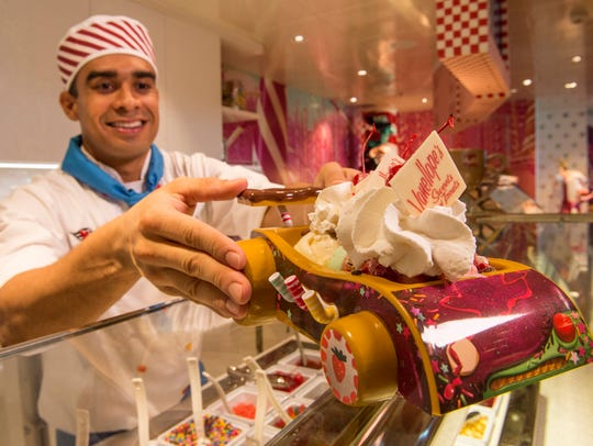 On the Disney Dream, Vanellope's Sweets and Treats