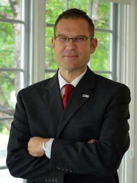 Zane State College President Chad M. Brown