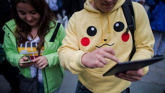 Pokemon Go uses GPS to locate your phone's location.