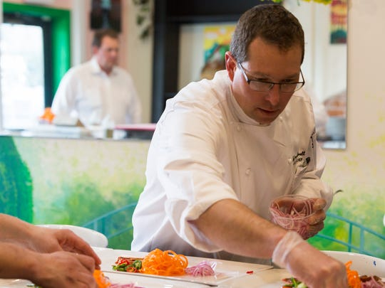 Jeff Blackwell, executive chef of Hot Corner Concepts, is competing at this year's The Taste.
