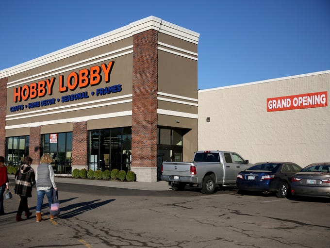 The grand opening for Hobby Lobby at the Willamette