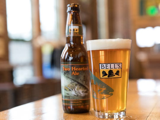 Two Hearted Ale, an IPA from Bell's Brewery in the