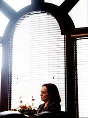 KUB President and CEO Mintha Roach speaks during an interview in her office in the Miller Building in downtown Knoxville, Tennessee on Tuesday, April 24, 2018.