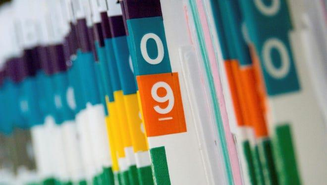 Patient medical records.