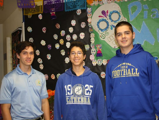 Alfonso Aguilar, left to right, Peter Villalobos and