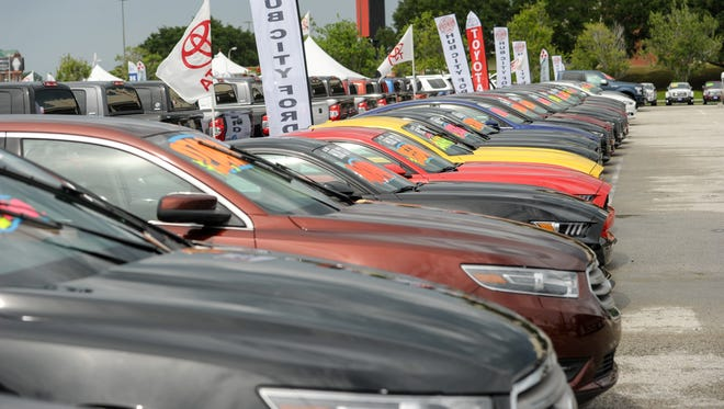 Final preparations being made as the 2016 Car Show opens Monday at Cajun Field.