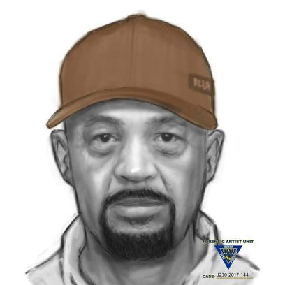 New Jersey State Police released this sketch as they