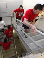 American Lung Association's Fight For Air Climb at Carew Tower.