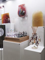 The new collection of Toledo glass artwork at the Henry