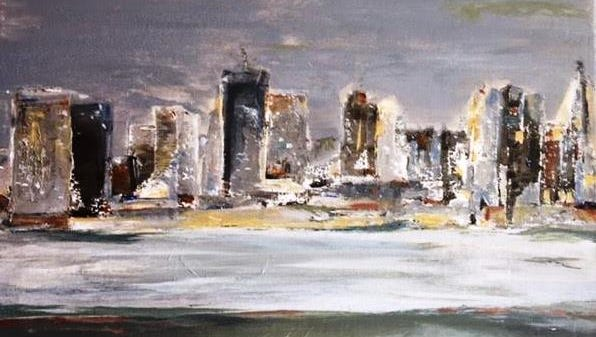 """""""Across the Water"""" by Mary Wehner, will be displayed at the Open Door Artists show in April."""