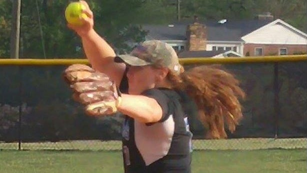 Micayla McCoy has close to 400 strikeouts in her four years as Smoky Mountain's pitcher.