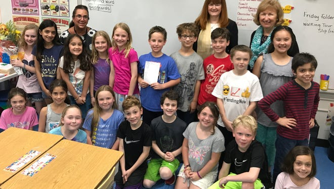 Penny O'Donnell, third-grade teacher at Franklin Elementary School in Westfield, is the 2017 recipient of the Westfield Rotary Club's Philhower Fellowship in recognition of outstanding teaching at the elementary school level.