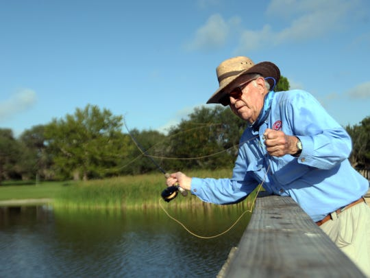 Phil Shook is an expert fly fisherman who wrote the book titled Flyfisher's Guide to Texas.