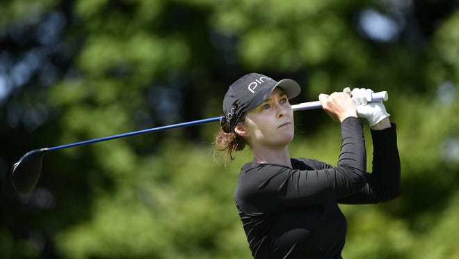 Brittany Altomare is in a three-way tie for sixth entering the final day of the LPGA Drive On Championship.