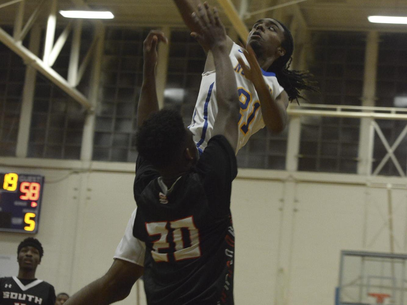 North Side's Marquis Clark played against South Side last season on the same day that his home caught on fire.