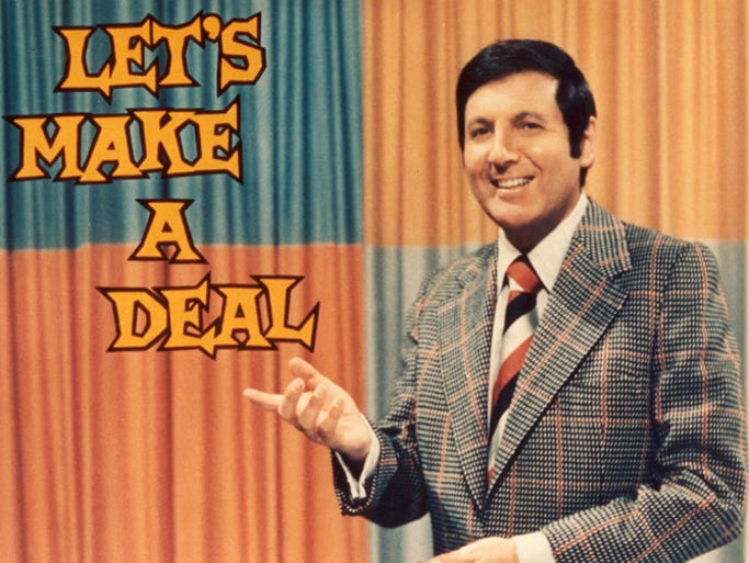 Image result for let's make a deal