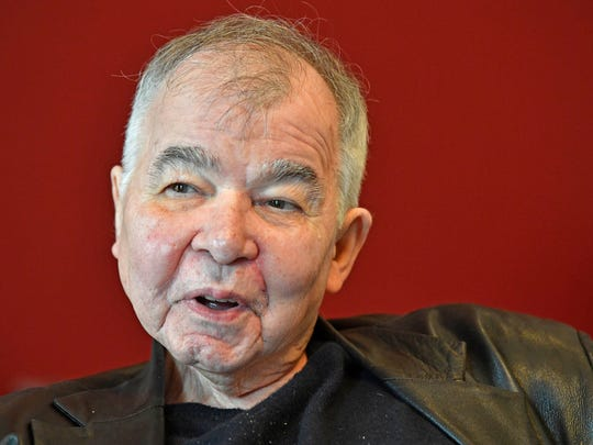 "John Prine in Nashville on March 20.  His new record, ""The Tree of Forgiveness,"" is his first album of original material since 2005."
